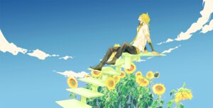 Rating: Safe Score: 14 Tags: kagamine_len kaninn male vocaloid User: charunetra