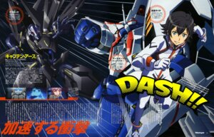 Rating: Safe Score: 9 Tags: bodysuit captain_earth izumo_takaaki male manatsu_daichi mecha ootsuka_ken User: drop