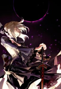 Rating: Questionable Score: 29 Tags: fate/grand_order saber saber_alter shycocoa sword User: Dreista