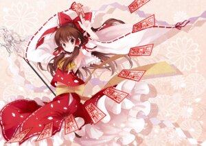 Rating: Safe Score: 30 Tags: hakurei_reimu koto_(colorcube) touhou User: Nekotsúh