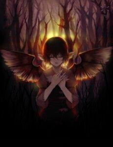 Rating: Safe Score: 10 Tags: mystia_lorelei s.advent touhou wings User: konstargirl