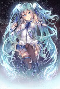 Rating: Safe Score: 30 Tags: 7th_dragon 7th_dragon_2020 hatsune_miku headphones thighhighs vocaloid User: Humanpinka