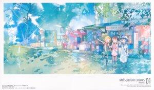Rating: Safe Score: 18 Tags: akamatsu_yui dress kotoha_(mitsuboshi_colors) landscape mitsuboshi_colors sacchan_(mitsuboshi_colors) thighhighs User: xiaowufeixia