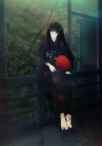 Rating: Safe Score: 55 Tags: bandages eyepatch feet kimono sugina_miki yomiko User: Share