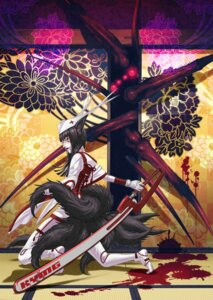 Rating: Safe Score: 13 Tags: animal_ears blood chainsaw kozaki_yuusuke monster tail User: hobbito