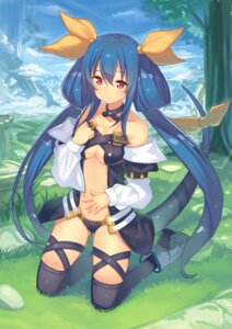 Rating: Safe Score: 62 Tags: dizzy guilty_gear hajime_kaname heels pantsu tail thighhighs underboob wings User: Mr_GT