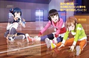 Rating: Safe Score: 10 Tags: kunikida_hanamaru kurosawa_dia love_live!_sunshine!! mizuno_tatsuya thighhighs tsushima_yoshiko User: drop