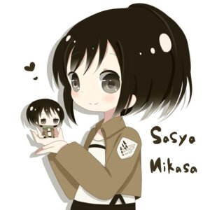 Rating: Safe Score: 11 Tags: chibi mikasa_ackerman roromi sasha_browse shingeki_no_kyojin User: Radioactive