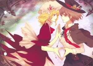 Rating: Safe Score: 6 Tags: maribel_han sugi touhou usami_renko User: Radioactive