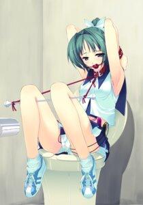 Rating: Explicit Score: 177 Tags: bondage cheerleader murakami_suigun pantsu vibrator User: StarlitVoyager