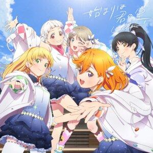 Rating: Safe Score: 17 Tags: arashi_chisato disc_cover garter hazuki_ren heanna_sumire love_live!_super_star!! shibuya_kanon skirt_lift tagme tang_keke thighhighs uniform User: saemonnokami