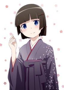 Rating: Safe Score: 23 Tags: gokou_tamaki kimono ore_no_imouto_ga_konnani_kawaii_wake_ga_nai suzmeco User: 23yAyuMe