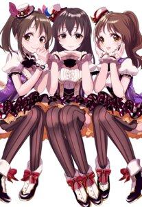 Rating: Safe Score: 32 Tags: dress fujiwara_hajime imai_kana sinsihukunokonaka takamori_aiko the_idolm@ster the_idolm@ster_cinderella_girls thighhighs User: Mr_GT