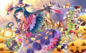 Rating: Safe Score: 16 Tags: chibi halloween kunikida_hanamaru kurosawa_dia kurosawa_ruby love_live!_sunshine!! matsuura_kanan ohara_mari sakurauchi_riko seifuku sweater tail takami_chika tsushima_yoshiko watanabe_you wings witch yuutarou User: animeprincess