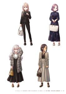 Rating: Questionable Score: 9 Tags: ahagon_umiko dress hazuki_shizuku megane new_game! tokunou_shoutarou tooyama_rin yagami_kou User: kiyoe