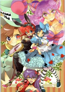 Rating: Questionable Score: 2 Tags: animal_ears bunny_ears chinadress cleavage dress fishnets heels ranma_½ tagme tail User: Radioactive