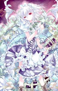 Rating: Safe Score: 15 Tags: izayoi_sakuya kochou totenkreuz touhou User: Radioactive