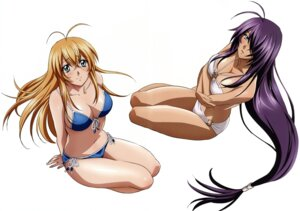 Rating: Questionable Score: 32 Tags: bikini cleavage gotou_junji ikkitousen kanu_unchou sonsaku_hakufu swimsuits User: YamatoBomber