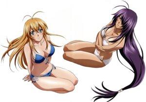 Rating: Questionable Score: 32 Tags: bikini cleavage gotou_junji ikkitousen kanu_unchou sonsaku_hakufu swimsuits User: YamatoBomber