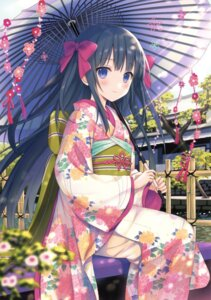 Rating: Safe Score: 133 Tags: kimono possible_duplicate umbrella yuuki_rika User: Twinsenzw