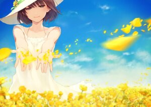 Rating: Safe Score: 44 Tags: dress fuyuno_yuuki summer_dress User: Radioactive