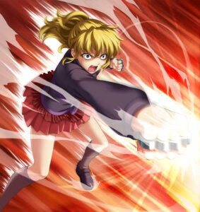 Rating: Safe Score: 15 Tags: seifuku tagme umineko_no_naku_koro_ni ushiromiya_jessica weapon User: Radioactive