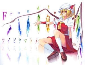 Rating: Safe Score: 10 Tags: flandre_scarlet rby touhou wings User: dyj