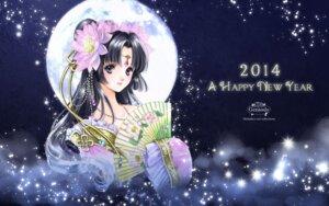 Rating: Safe Score: 21 Tags: gensoudou kimono shiitake User: Lilayuriko