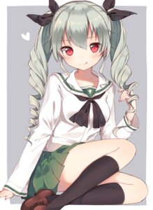Rating: Safe Score: 77 Tags: anchovy girls_und_panzer kanadetsuki_shion seifuku User: Mr_GT