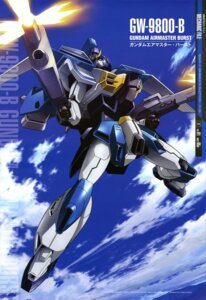 Rating: Safe Score: 10 Tags: gun gundam gundam_x mecha yamane_masahiro_(animator) User: drop