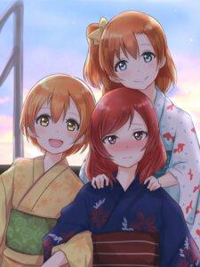 Rating: Safe Score: 34 Tags: gygpc956 hoshizora_rin kousaka_honoka love_live! nishikino_maki yukata User: mash