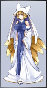 Rating: Safe Score: 11 Tags: aoshima tail touhou yakumo_ran User: Radioactive