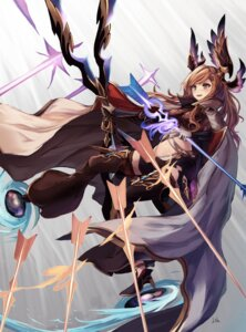 Rating: Safe Score: 49 Tags: eruthika granblue_fantasy heels song_(granblue_fantasy) thighhighs weapon User: charunetra