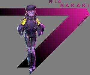 Rating: Safe Score: 10 Tags: heterochromia sakaki_ria seven's_code tagme transparent_png User: saemonnokami