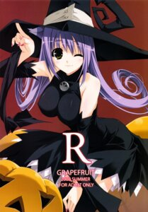 Rating: Questionable Score: 44 Tags: blair erect_nipples grapefruit shintarou soul_eater witch User: MirrorMagpie