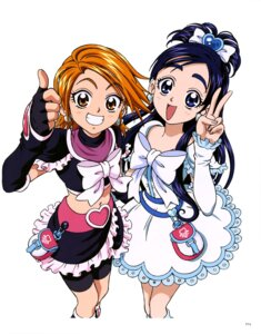 Rating: Questionable Score: 4 Tags: bike_shorts dress futari_wa_pretty_cure pretty_cure User: drop