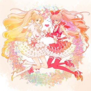 Rating: Safe Score: 12 Tags: houjou_hibiki minamino_kanade molatoliamu pretty_cure suite_pretty_cure thighhighs User: Nekotsúh