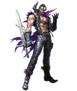 Rating: Safe Score: 4 Tags: armor bandai_namco kawano_takuji male open_shirt soul_calibur soul_calibur_v sword tattoo torn_clothes weapon z.w.e.i. User: Yokaiou