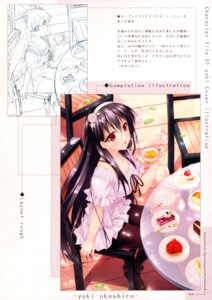 Rating: Safe Score: 20 Tags: hayakawa_harui okushiro_yuki pantyhose shoujo_shiniki_shoujo_tengoku sketch User: Hatsukoi