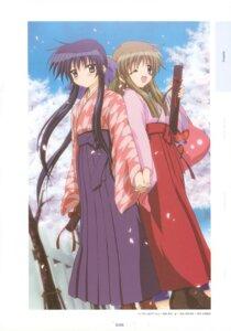 Rating: Safe Score: 4 Tags: japanese_clothes kanon kawasumi_mai kurata_sayuri sakamoto_kazuya User: lzcli