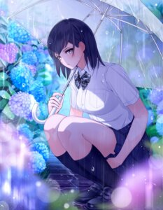Rating: Safe Score: 62 Tags: giba_(out-low) seifuku umbrella User: Mr_GT