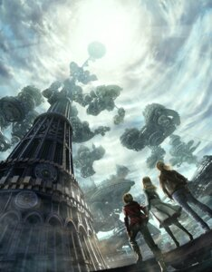 Rating: Safe Score: 33 Tags: dress landscape mecha resonance_of_fate User: Radioactive