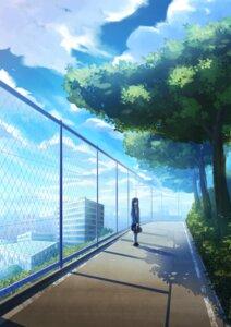 Rating: Safe Score: 15 Tags: joshikousei_no_muda_zukai landscape saginomiya_shiori seifuku tagme User: saemonnokami