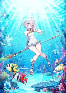 Rating: Safe Score: 37 Tags: kokkoro pointy_ears princess_connect princess_connect!_re:dive punc_p swimsuits weapon User: Mr_GT