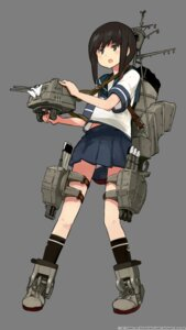 Rating: Safe Score: 22 Tags: fubuki_(kancolle) kantai_collection seifuku shibafu transparent_png weapon User: 23yAyuMe