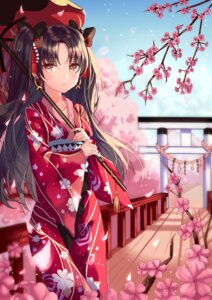 Rating: Safe Score: 37 Tags: fate/grand_order ishtar_(fate/grand_order) kimono shaffelli umbrella User: BattlequeenYume
