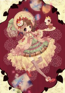 Rating: Safe Score: 18 Tags: dress kabasawa_kina lolita_fashion thighhighs User: hobbito