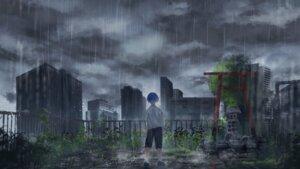 Rating: Safe Score: 11 Tags: kotomi_alpaca landscape tenki_no_ko wallpaper wet User: Arsy