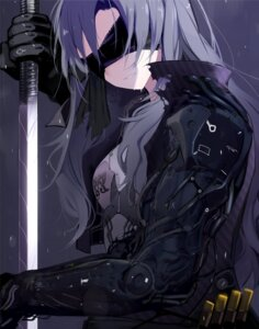 Rating: Questionable Score: 10 Tags: armor bandages giba mecha_musume sword takayama_sayoko the_idolm@ster the_idolm@ster_million_live! the_idolm@ster_million_live!_theater_days User: sym455
