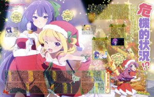 Rating: Safe Score: 37 Tags: christmas dress gi(a)rlish_number karasuma_chitose_(giarlish_number) kuga_moeka pantyhose shibasaki_kazuha sonou_momoka User: drop